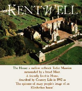 Kentwell Hall - Aerial View